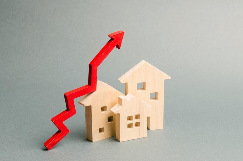 ingatlan négyzetméter árak